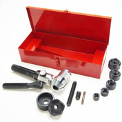 """Burndy® Self Contained Hydraulic 360° Knockout Set -1/2"""" - 2"""" Conduit"""