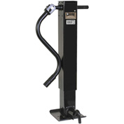 """Buyers Products 0091415H 4"""" HD Sidewind Jack with Front Pin & Handle - 12"""" Travel"""