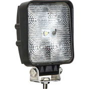 Buyers LED Square Clear Flood Light 12-24VDC - 5 LEDs - 1492117
