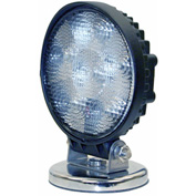Buyers LED Round Clear Flood Light 12-24 VDC - 5 LEDs - 1492130