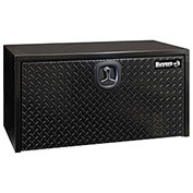 Buyers Steel Underbody Truck Box W/ Diamond Tread Aluminum Door - Black 18x18x24 - 1702500