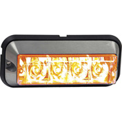 Buyers LED Rectangular Clear Strobe Light - 4 LEDs - 8891104