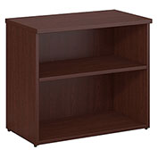 Bush Furniture 2 Shelf Bookcase - Harvest Cherry - 400 Series