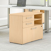 "Bush Furniture 30""W File Cabinet - Natural Maple - 400 Series"