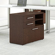 "Bush Furniture 30""W File Cabinet - Mocha Cherry - 400 Series"