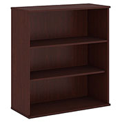 "Bush® 48""H 3 Shelf Bookcase Harvest Cherry"