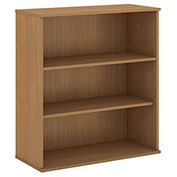"Bush® 48""H 3 Shelf Bookcase Modern Cherry"