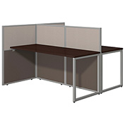 Bush® Easy Office 60W 2-Person Straight Desk, Open Office