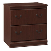 Bush Furniture Executive Lateral File Cabinet - Harvest Cherry - Birmingham Series