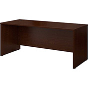 "Bush Furniture Wood Desk Shell - 72"" - Mocha Cherry - Series C"