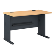 "Bush Furniture 48"" Desk - Beech - Series A"