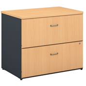 Series A Beech 2 Drawer Lateral File (Setup)