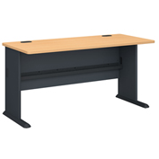 "Bush Furniture 60"" Desk - Beech - Series A"