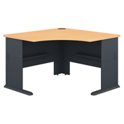 "Series A Beech 48"" Corner Desk"