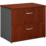 Series C Hansen Cherry 2 Drawer Lateral File (Setup)