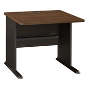 "Series A Walnut 36"" Desk"