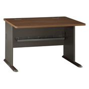 "Bush Furniture 48"" Desk - Walnut - Series A"
