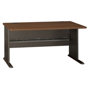 "Series A Walnut 60"" Desk"