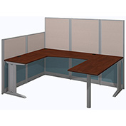 Bush® Office-in-an-Hour 89W x 65D U-Workstation