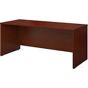 "Bush Furniture Wood Desk Shell - 72"" - Mahogany - Series C"