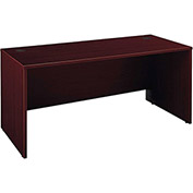 "Bush Furniture Wood Desk Shell - 66"" - Mahogany - Series C"