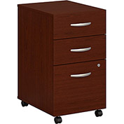 Series C Mahogany Three-Drawer File (Setup)