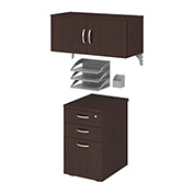 Bush® Office-in-an-Hour Storage & Accessory Kit