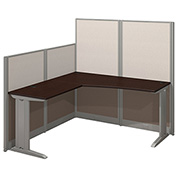 Bush® Office-in-an-Hour 65W x 65D L-Workstation