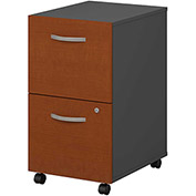 Bush Furniture Two Drawer File Cabinet (Assembled) - Auburn Maple - Series C