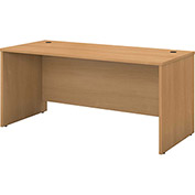 "Bush Furniture Credenza Shell - 60""W x 23-3/8""D - Light Oak - Series C"