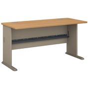 "Series A Light Oak 60"" Desk"