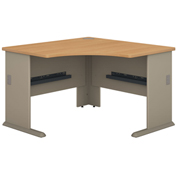 "Series A Light Oak 48"" Corner Desk"