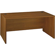 "Bush Furniture Wood Desk Shell - 66"" - Warm Oak - Series C"
