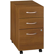 Series C Warm Oak Three-Drawer File (Setup)