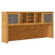 "Bush Furniture Hutch - 71""W - Maple Cross - Somerset Series"