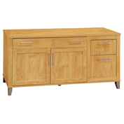 "Somerset 60"" Credenza Maple Cross"