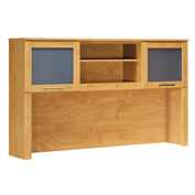 "Bush Furniture Hutch - 60"" - Maple Cross - Somerset Series"