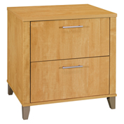 Bush Furniture Lateral File - Maple Cross - Somerset Series