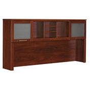 "Bush Furniture Hutch - 71""W - Hansen Cherry - Somerset Series"