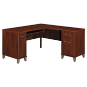 Somerset L-Desk Hansen Cherry