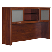 "Bush Furniture Hutch - 60"" - Hansen Cherry - Somerset Series"
