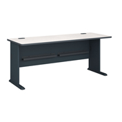 "Bush Furniture 72"" Desk - Gray - Series A"