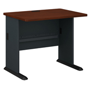 "Bush Furniture 36"" Desk - Hansen Cherry - Series A"