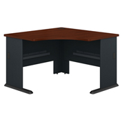 "Bush Furniture 48"" Corner Desk - Hansen Cherry - Series A"
