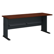 "Bush Furniture 72"" Desk - Hansen Cherry - Series A"