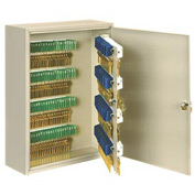 Sandusky Buddy 1300-6 - 300 Key Cabinet - Putty