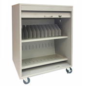 Economy Tablet Security Cart