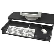 Articulating Keyboard Drawer - Black
