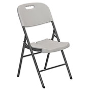 Sandusky Plastic Utility Folding Chair - White - Pack of 4