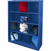 Sandusky Cubbie Storage Organizer - 12 Sections - Blue